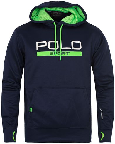 Polo Sport Ralph Lauren Performance Hooded Sweater French Navy i gruppen Gensere / Hettegensere hos Care of Carl (13223711r)