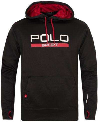 Polo Sport Ralph Lauren Performance Hooded Sweater Polo Black i gruppen Tröjor / Huvtröjor hos Care of Carl (13223811r)