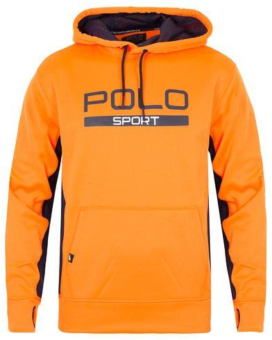 Polo Sport Ralph Lauren Performance Hooded Sweater Blaze Orange i gruppen Tröjor / Huvtröjor hos Care of Carl (13223911r)