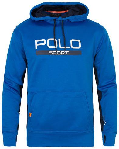 Polo Sport Ralph Lauren Performance Hooded Sweater Horizon Royal Blue i gruppen Tröjor / Huvtröjor hos Care of Carl (13224011r)