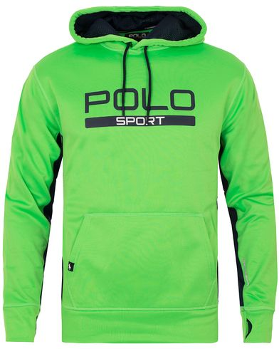Polo Sport Ralph Lauren Performance Hooded Sweater Blaze Lime Green i gruppen Kläder / Tröjor / Huvtröjor hos Care of Carl (13224111r)