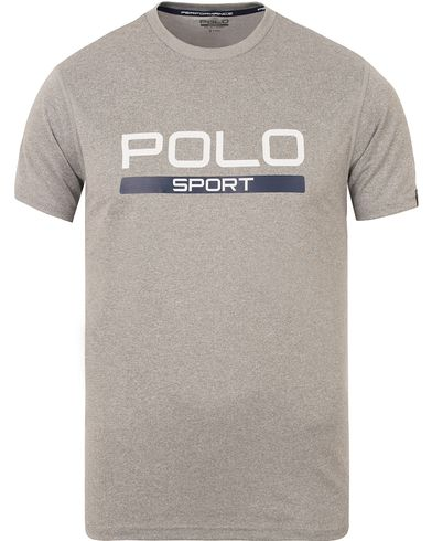 Polo Sport Ralph Lauren Core Tee Andover Heather i gruppen T-Shirts / Kortärmade t-shirts hos Care of Carl (13224811r)