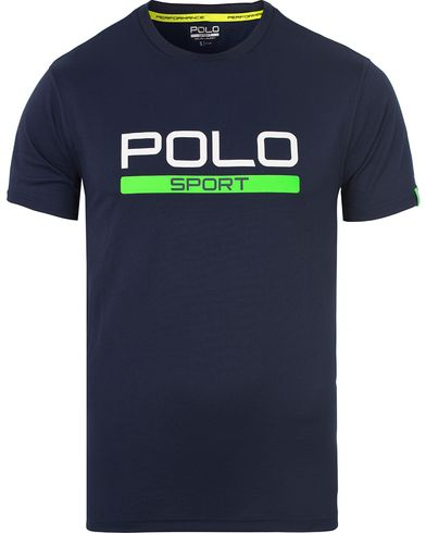 Polo Sport Ralph Lauren Core Tee French Navy i gruppen T-Shirts / Kortermede t-shirts hos Care of Carl (13224911r)