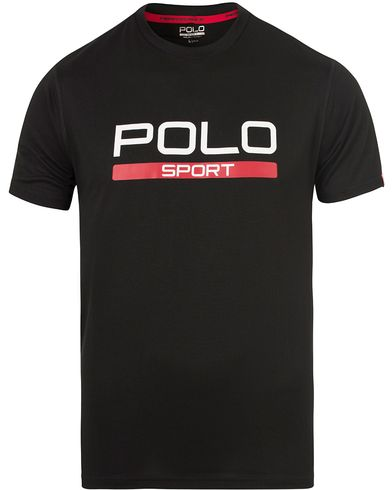 Polo Sport Ralph Lauren Core Tee Polo Black i gruppen T-Shirts / Kortermede t-shirts hos Care of Carl (13225011r)