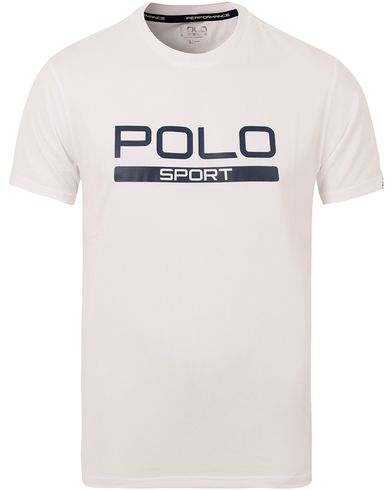 Polo Sport Ralph Lauren Core Tee Pure White i gruppen T-Shirts / Kortermede t-shirts hos Care of Carl (13225111r)
