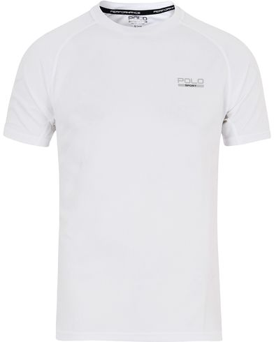 Polo Sport Ralph Lauren Performance Tee Pure White i gruppen T-Shirts / Kortärmade t-shirts hos Care of Carl (13225511r)