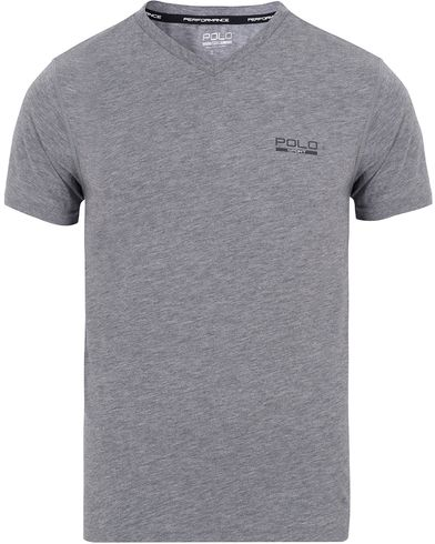 Polo Sport Ralph Lauren V-Neck Tee Speedway Grey Heather i gruppen T-Shirts / Kortermede t-shirts hos Care of Carl (13225811r)