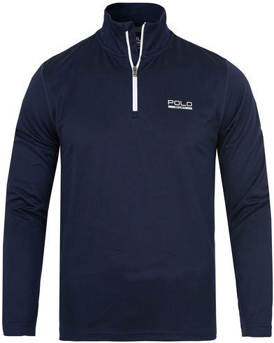 Polo Sport Ralph Lauren Performance Track Stretch Sweater French Navy i gruppen Design A / Gensere / Zip-gensere hos Care of Carl (13225911r)