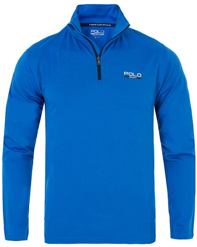 Polo Sport Ralph Lauren Performance Track Stretch Sweater Horizon Royal Blue i gruppen Kläder / Tröjor / Zip-tröjor hos Care of Carl (13226011r)