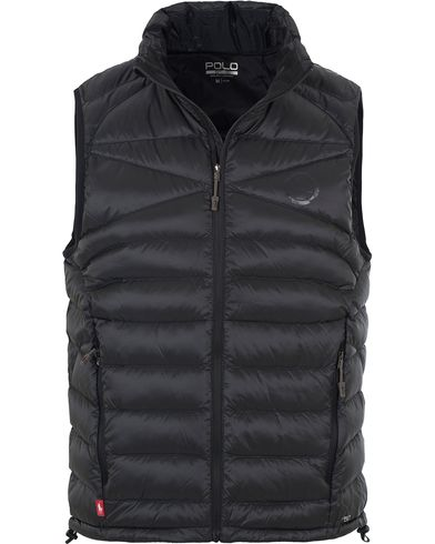 Polo Sport Ralph Lauren Lightweight Vest Polo Black i gruppen Jackor / Yttervästar hos Care of Carl (13226611r)