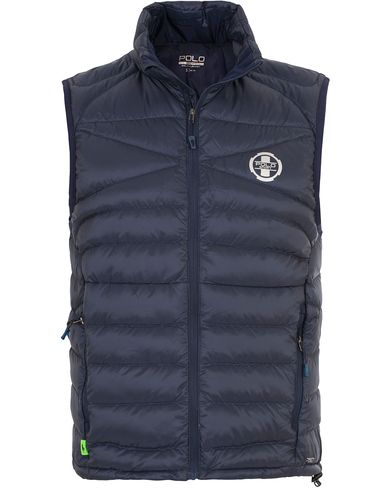 Polo Sport Ralph Lauren Lightweight Vest French Navy i gruppen Kläder / Jackor / Yttervästar hos Care of Carl (13226711r)