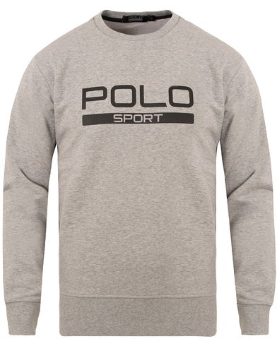 Polo Sport Ralph Lauren Crew Neck Sweatshirt Andover Heather i gruppen Tröjor / Sweatshirts hos Care of Carl (13227211r)