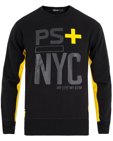 Polo Sport Ralph Lauren Crew Neck Sweatshirt Polo Black i gruppen Tröjor / Sweatshirts hos Care of Carl (13227311r)