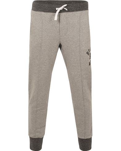 Polo Sport Ralph Lauren Brooklyn Fleece Sweatpants Andover Heather i gruppen Byxor / Mjukisbyxor hos Care of Carl (13227511r)