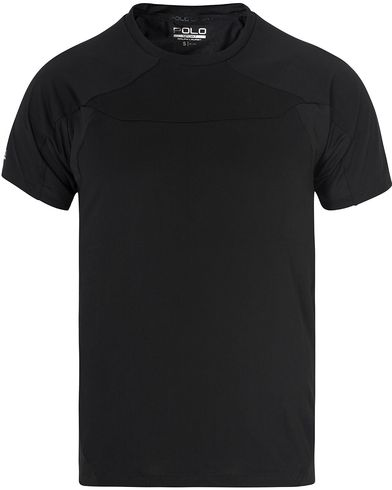 Polo Sport Ralph Lauren Crew Neck Performance Tee Polo Black i gruppen T-Shirts / Kortärmade t-shirts hos Care of Carl (13228011r)