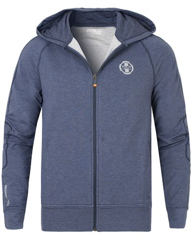 Polo Sport Ralph Lauren Full Zip Hoodie Barkley Heather i gruppen Kläder / Tröjor / Huvtröjor hos Care of Carl (13228311r)