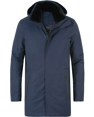 Uber Regulator Parka II LTD Savile Navy wool i gruppen Jakker / Parkas hos Care of Carl (13230811r)