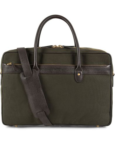 Baron 24 Hour Weekendbag Green Canvas  i gruppen Assesoarer / Vesker / Weekendbager hos Care of Carl (13231210)