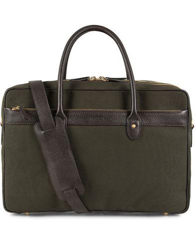 Baron 24 Hour Weekendbag Green Canvas  i gruppen Vesker / Weekendbager hos Care of Carl (13231210)