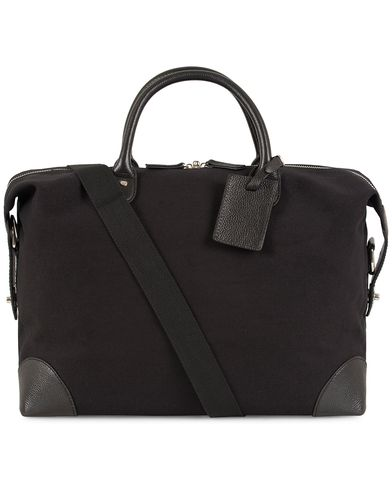 Baron Small Weekendbag Black Canvas  i gruppen Assesoarer / Vesker / Weekendbager hos Care of Carl (13231310)