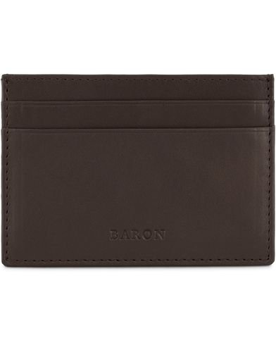 Baron Card Holder Dark Brown  i gruppen Accessoarer / Pl�nb�cker hos Care of Carl (13231510)