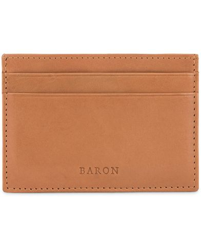 Baron Card Holder Tan  i gruppen Assesoarer / Lommebøker / Kortholdere hos Care of Carl (13231710)