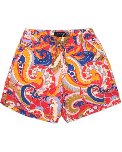 Etro Large Paisley Swimtrunk Multicolour i gruppen Badeshorts hos Care of Carl (13232811r)
