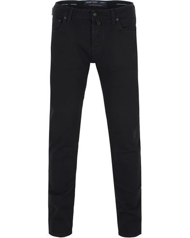 Jacob Cohën 622 Slim Jeans Black/Black Label i gruppen Kläder / Jeans / Smala jeans hos Care of Carl (13233111r)
