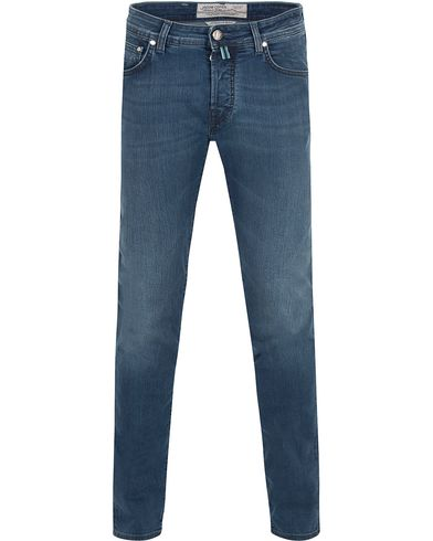 Jacob Cohën 622 Slim Jeans Light Blue/Grey Label i gruppen Kläder / Jeans / Smala jeans hos Care of Carl (13233211r)