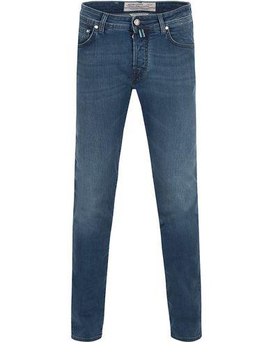 Jacob Cohën 622 Slim Jeans Light Blue/Grey Label i gruppen Jeans / Smala jeans hos Care of Carl (13233211r)