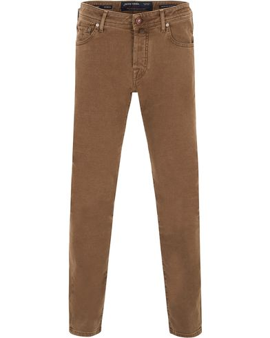 Jacob Cohën 622 Slim 5-Pocket Pants Brown i gruppen Design A / Bukser / 5-lommersbukser hos Care of Carl (13233511r)