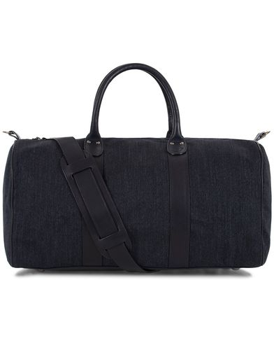 Jacob Cohën Luxury Weekendbag Denim Blue  i gruppen Accessoarer / Väskor / Weekendbags hos Care of Carl (13234010)