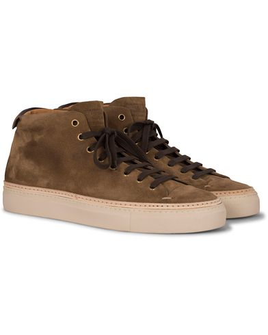 Buttero High Sneaker Suede Tobacco i gruppen Skor / Sneakers / Höga sneakers hos Care of Carl (13234811r)