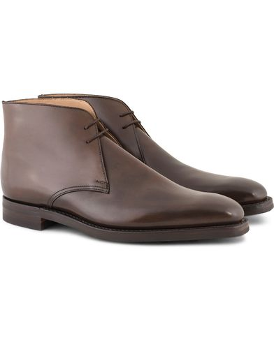 Crockett & Jones Tetbury Chukka Boots Dark Brown Calf i gruppen Sko hos Care of Carl (13235011r)