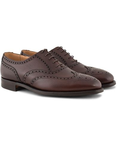 Crockett & Jones MTO Finsbury Brogue City Sole Brown Grain Calf i gruppen Sko / Brogues hos Care of Carl (13235411r)