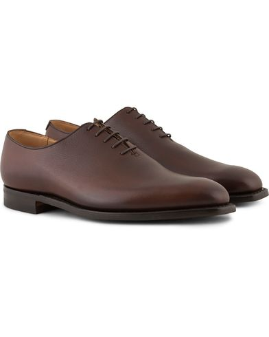Crockett & Jones MTO Alex Oxford City Sole Brown Grain Calf i gruppen Skor / Oxfords hos Care of Carl (13235511r)