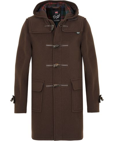 Gloverall Morris Duffel Coat Brown i gruppen Klær / Jakker / Vinterjakker hos Care of Carl (13235711r)