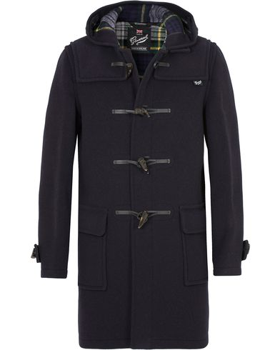 Gloverall Morris Duffel Coat Navy/Dress Gordon i gruppen Jackor / Vinterjackor hos Care of Carl (13235811r)