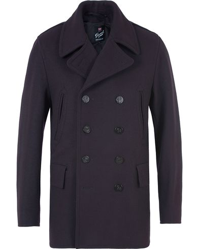 Gloverall Churchill Reefer Peacoat Navy i gruppen Kläder / Jackor / Skepparkavajer hos Care of Carl (13236011r)