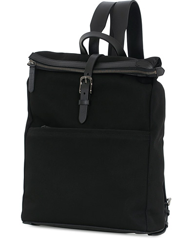 Mismo M/S Express Nylon Backpack Black/Black  i gruppen Assesoarer / Vesker / Ryggsekker hos Care of Carl (13240610)