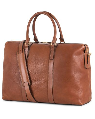 Mismo Misson Leather Weekend Bag Tabac/Cuoio  i gruppen Vesker / Weekendbager hos Care of Carl (13240910)