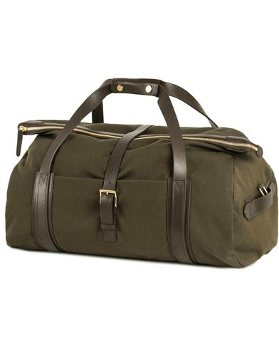 Mismo M/S Explorer Weekend Bag Pine Green/Dark Brown  i gruppen Design A / Vesker / Weekendbager hos Care of Carl (13241210)