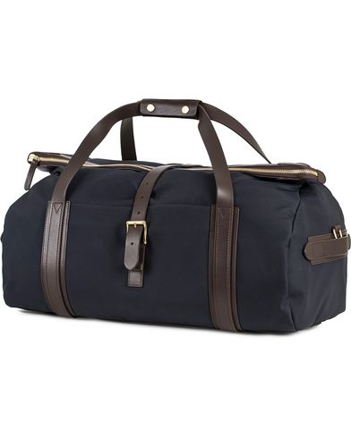 Mismo M/S Explorer Weekend Bag Navy/Dark Brown  i gruppen Vesker / Weekendbager hos Care of Carl (13241310)