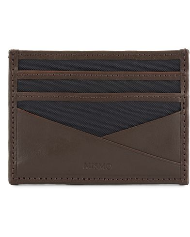 Mismo M/S Cardholder Navy/Dark Brown  i gruppen Assesoarer hos Care of Carl (13242410)