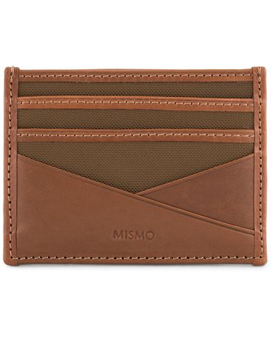 Mismo M/S Cardholder Sepia/Cuoio  i gruppen Accessoarer / Pl�nb�cker hos Care of Carl (13242510)