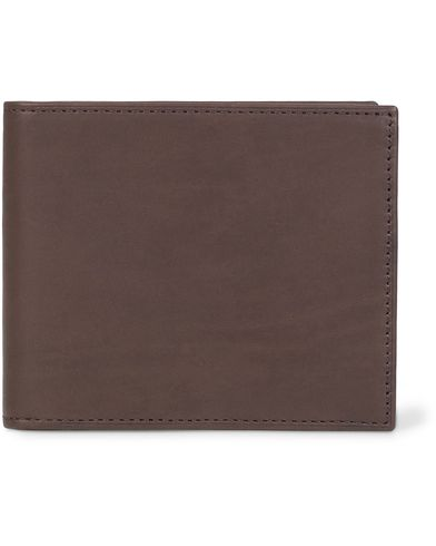 Mismo Leather Billfold Dark Brown  i gruppen Assesoarer / Lommebøker / Vanlige lommebøker hos Care of Carl (13242810)