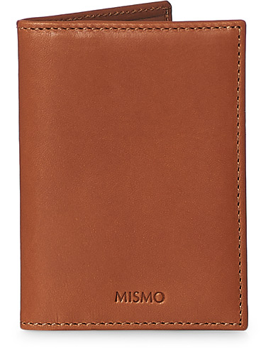 Mismo Leather Credit Card Wallet Tabac  i gruppen Accessoarer / Plånböcker / Vanliga plånböcker hos Care of Carl (13242910)