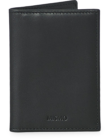 Mismo Leather Credit Card Wallet Black  i gruppen Accessoarer / Plånböcker / Vanliga plånböcker hos Care of Carl (13243010)