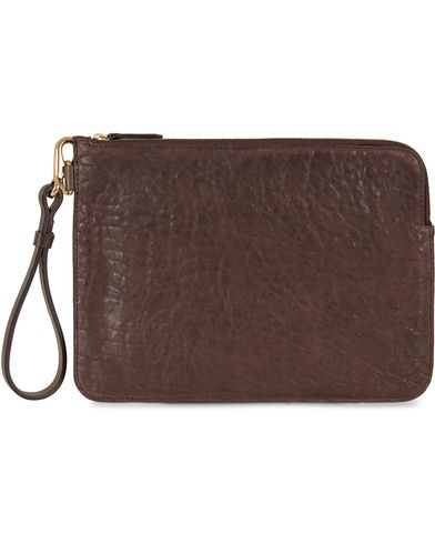 Mismo Tuscan Leather Pouch Dark Brown  i gruppen Vesker / Dokumentvesker hos Care of Carl (13243110)