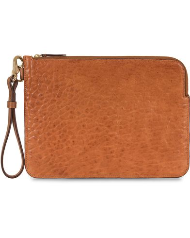 Mismo Tuscan Leather Pouch Tabac  i gruppen V�skor / Portf�ljer hos Care of Carl (13243210)